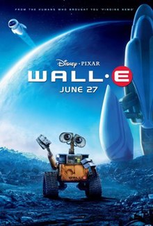 Wall-E 2008 US Animation Andrew Stanton Ben Burtt Elissa Knight Jeff Garlin  Animation, Adventure, Family