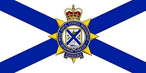 West Nova Scotia Regiment - The camp flag of The West Nova Scotia Regiment.