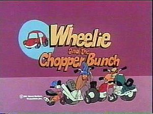Wheelie and the Chopper Bunch - The series' title card