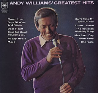 Andy Williams' Greatest Hits - Image: Williams GHUK
