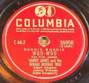 Woo-Woo (song) - Image: Woo Woo Record Label