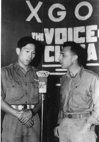 "Shortwave listening -  ""The Voice of China"" broadcast in 1942"