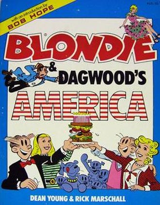 Blondie (comic strip) - Image: Youngmarschallblondi e