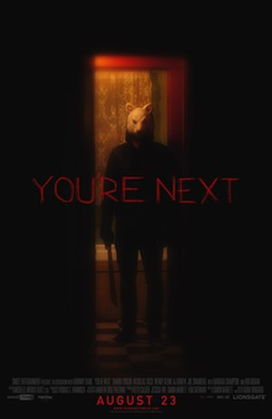 You're Next - Theatrical release poster