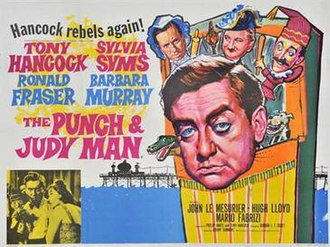 The Punch and Judy Man - Original UK quad poster by Tom Chantrell