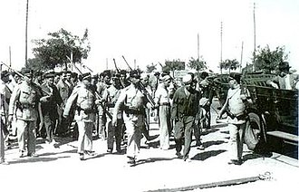 1936 Naval Revolt - Mutineers are arrested by government police forces.