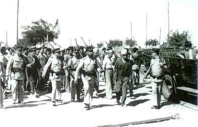 1936 Naval Revolt Soldiers Portugal