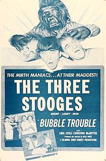 <i>Bubble Trouble</i> (film) 1953 film by Jules White