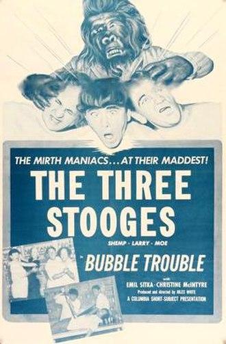 Bubble Trouble (film) - Image: 1953 Stooges bubble trouble