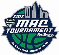 2012 MAC Tournament logo