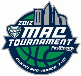 Mid-American Conference Men's Basketball Tournament - Image: 2012 MAC Tournament Logo