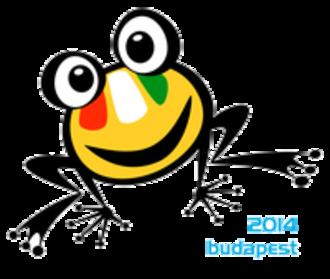 Hungarian Water Polo Federation - Logo of 2014 EC