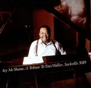 <i>A Tribute to Fats Waller</i> 1978 studio album by Jay McShann