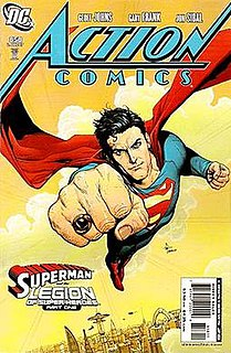 Superman and the Legion of Super-Heroes 2007 comic book DC Comics story arc