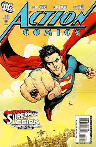 Superman and the Legion of Super-Heroes - Image: Action 858