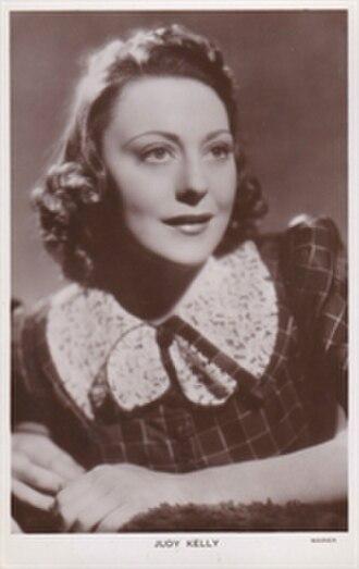 Judy Kelly - Picturegoer postcard
