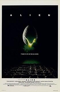 <i>Alien</i> (film) 1979 science fiction horror film by Ridley Scott