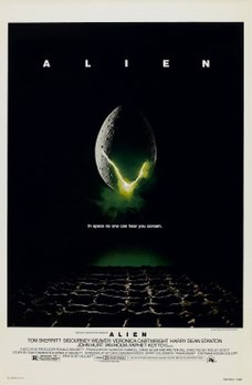 <i>Alien</i> (film) 1979 science-fiction horror film by Ridley Scott