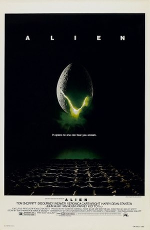Alien (film) - Image: Alien movie poster