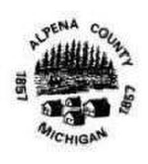 Alpena County, Michigan - Image: Alpena county seal