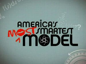 America's Most Smartest Model - Title Card