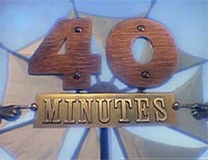 """40 Minutes - BBC """"40 Minutes"""" documentary strand logo."""