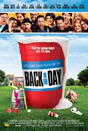 Back in the Day (2014 film) - Image: Back in the Day