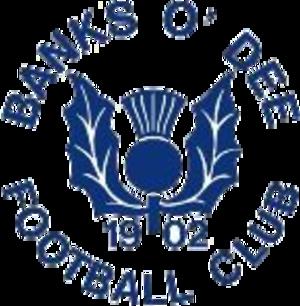 Banks O' Dee F.C. - Image: Banksodeebadge 1