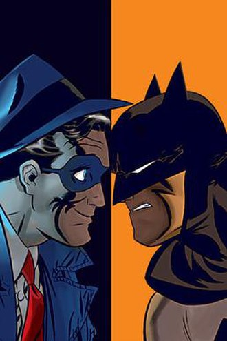 Batman/The Spirit - Cover to Batman/The Spirit. Art by Darwyn Cooke.