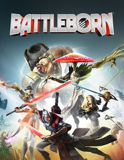 <i>Battleborn</i> (video game) first-person shooter video game