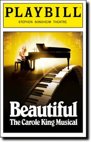Beautiful: The Carole King Musical - 2014 Broadway Playbill