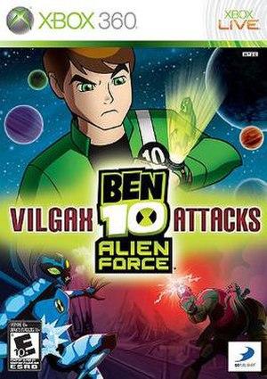 Ben 10 Alien Force: Vilgax Attacks - Image: Ben 10VA Xbox Cover