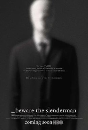 Beware the Slenderman - Television release poster