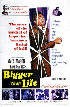 Bigger Than Life (1956) movie poster