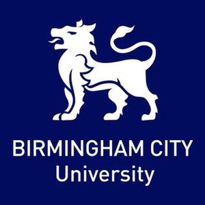 Birmingham City University - Image: Birmingham City University logo with white tiger