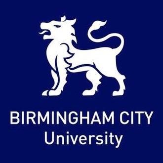 Birmingham City University - Image: Birmingham City University logo with white tiger