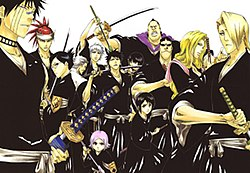 List of Soul Reapers in Bleach - Wikiwand