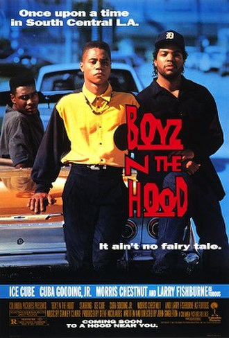 Boyz n the Hood - Theatrical release poster
