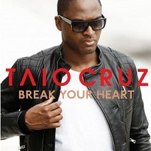 Taio Cruz — Break Your Heart (studio acapella)