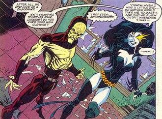 Shriek (comics) - Image: Carrion Shriek