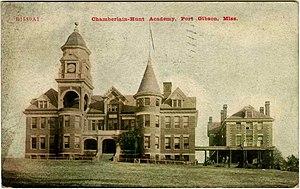 Chamberlain-Hunt Academy - Image: Chamberlain.hunt.aca demy.postcard