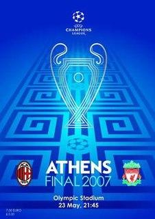 2007 UEFA Champions League Final association football match