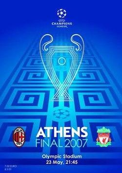 2007 UEFA Champions League Final - Wikipedia