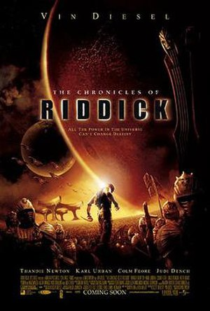 The Chronicles of Riddick - Theatrical release poster