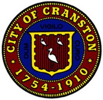 Cranston, Rhode Island - Image: City of Cranston RI Seal