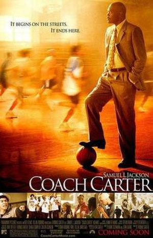 Coach Carter - Theatrical release poster
