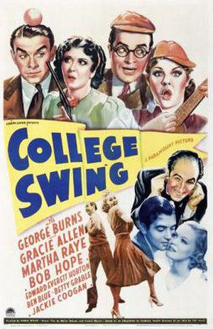 College Swing - theatrical poster