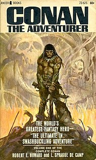 <i>Conan the Adventurer</i> (short story collection) book by Robert E. Howard
