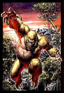 Congorilla fictional gorilla which appear in DC Comics and Vertigo Comics