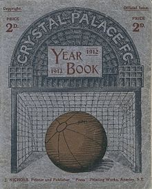 Front cover of a year book.